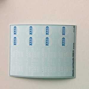 Atlantic Danville 2005 Decals 1:160 oder Spur N