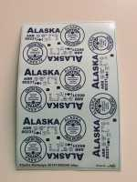 Alaska Railways Decals 1:87 oder H0